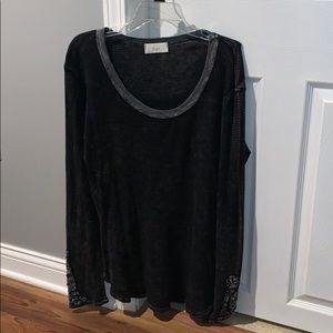 Long Sleeve Black tunic Long Sleeve Shirt